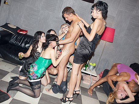 Crazy college fuck party movie