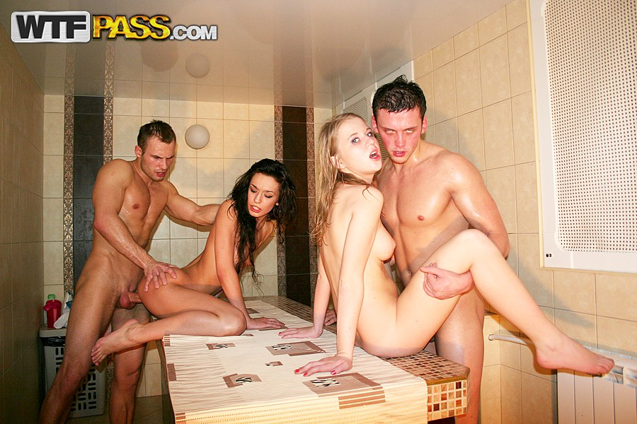 Passionate fuck with college party girls - Watch free porn movie
