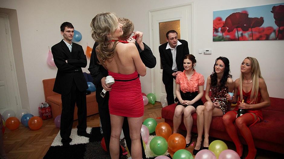Partying fucking drunk girls