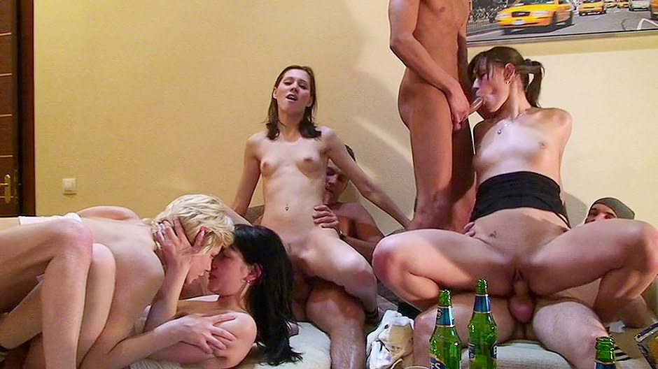 Awesome orgy at my recent student party