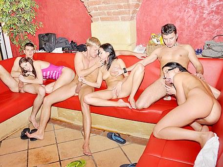 surprise sex party
