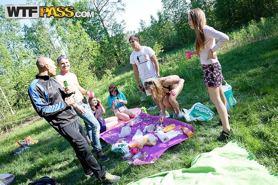 outdoor student