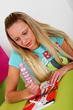 Blonde Teen Gets A Massive Facial After Deep Throat - Picture 2