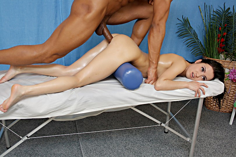 hardened analyzed fuck at naked massage
