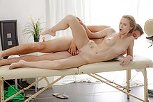 Redhead With Nice Tits Got Erotic Massage And Hardcore Sex - Picture 12