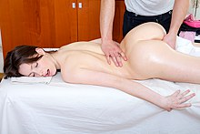 naked amateur massage