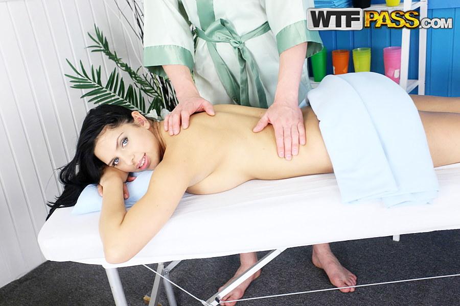 Plump Teen Gets Massage 96