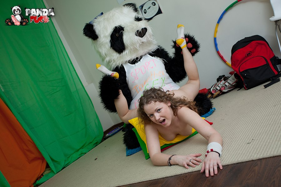 panda porn tube Can't tell if it is a plushie or plushie styled fursuit until  seeing movement.