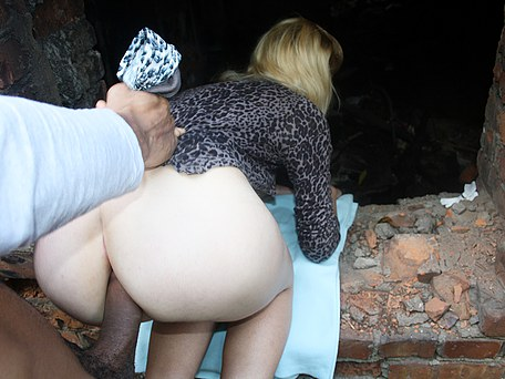 Porn public anal